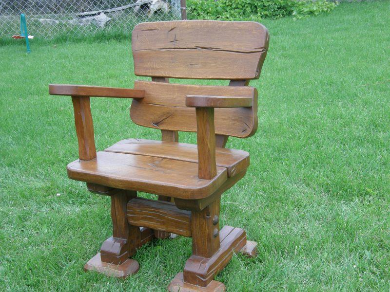 Inter-Trak - Tartak Strzelno - Architektura ogrodowa - Krzesła