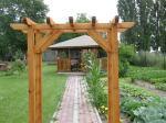 Inter-Trak - Tartak Strzelno - Architektura ogrodowa - Pergole