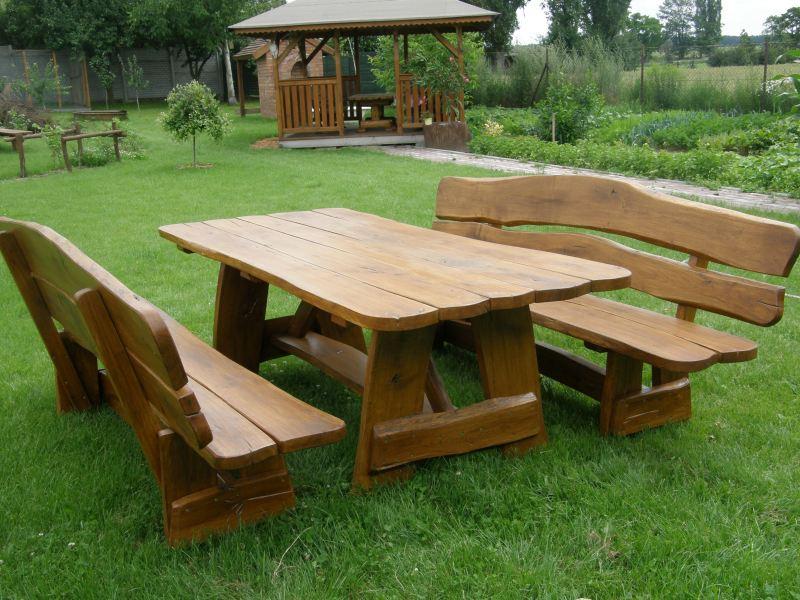 Inter-Trak - Tartak Strzelno - Architektura ogrodowa - Ławy i stoły