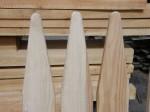 Tartak Strzelno - Produkty - Sztachety drewniane ołówkowe