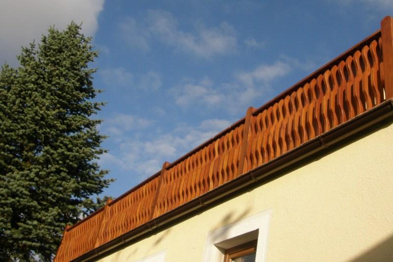 Inter-Trak - Tartak Strzelno - Architektura ogrodowa - Balustrada balkonowa