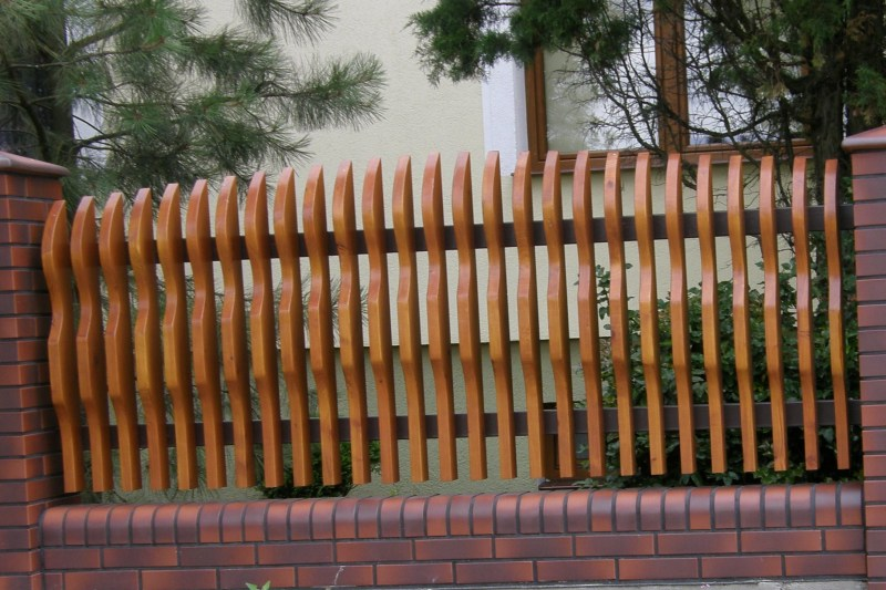 Inter-Trak - Tartak Strzelno - Architektura ogrodowa - Ogrodzenie
