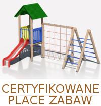 Drewniane Place Zabaw