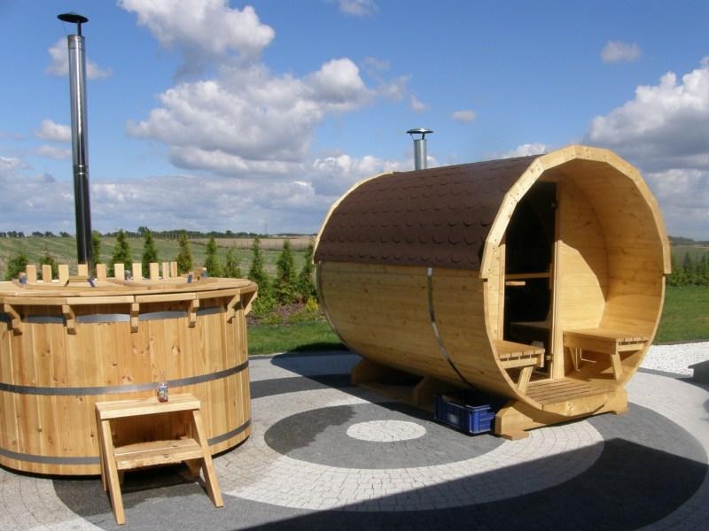 Sauna i balia - realizacja